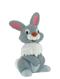 Disney Bambi Thumper taart topper decoratie 5 cm.
