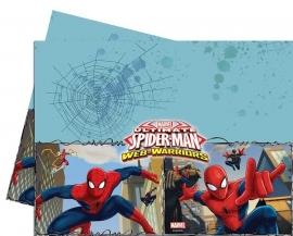 Spiderman Web-Warriors tafelkleed 120 x 180 cm.