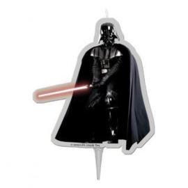 Star Wars Darth Vader 2D taart kaars 8 cm.