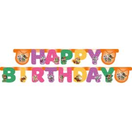 44 Cats slinger happy birthday  2,05 mtr.
