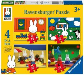 Nijntje puzzel 12 - 16 - 20 - 24 stukjes