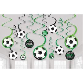 Voetbal draaislingers Goal Getter 12 st.