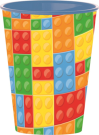 Lego Block Party drinkbeker 260 ml.