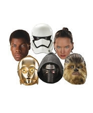 Star Wars maskers 6 st.