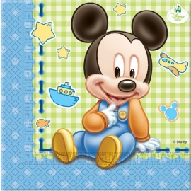 Disney Baby Mickey Mouse servetten 20 st.