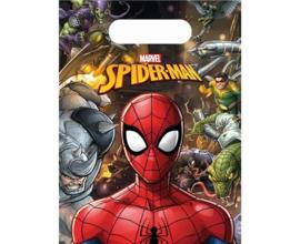 Spiderman traktatiezakjes Team Up 6 st.
