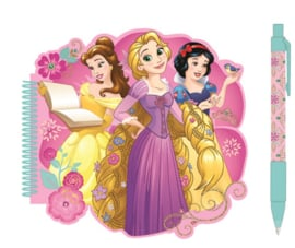 Disney Princess notitieboekje met pen