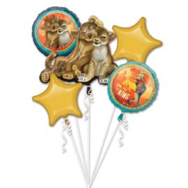 Disney The Lion King folieballonnen boeket 5-delig