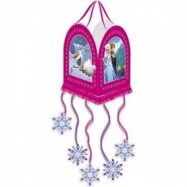 Disney Frozen pull pinata M roze 43 x 43 cm.