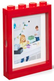 Lego fotolijst rood