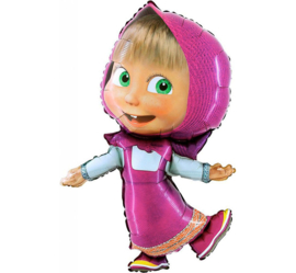 Masha and the Bear folieballon - Masha 103 cm.