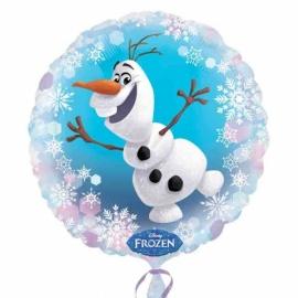 Disney Frozen Olaf folieballon ø 43 cm.