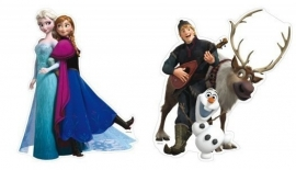 Disney Frozen hangdecoratie set 30 cm.