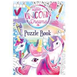 Little Unicorn Dreams mini puzzel boekje