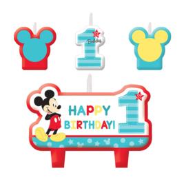 Disney Baby Mickey Mouse verjaardag taart kaarsjes set