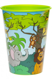 Jungle drinkbeker 260 ml.