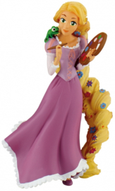 Disney Rapunzel Paint taart topper decoratie 10 cm.