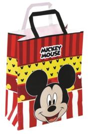 Disney Mickey Mouse traktatie tasje 23 x 18 cm.