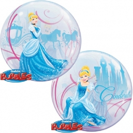 Disney Princess Assepoester bubble ballon ø 56 cm.