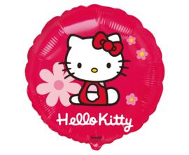Hello Kitty folieballon Flowers ø 45 cm.