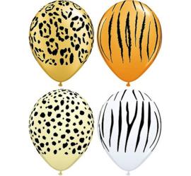 Safari ballonnen ø 27,5 cm. 6 st.