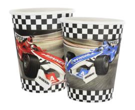 Formula Race bekertjes 6 st.