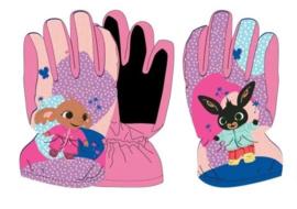 Bing en Sula ski handschoenen roze 7-8 jaar