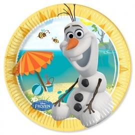 Disney Frozen Olaf gebakbordjes summer 8 st.