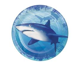 Shark gebakbordjes ø 17,4 cm. 8 st.