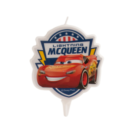 Disney Cars taart kaars Lightning McQueen 7,5 cm.