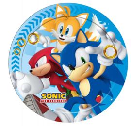 Sonic bordjes ø 23 cm. 8 st.
