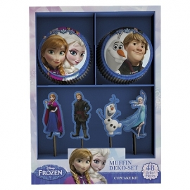 Disney Frozen cupcake decoratieset 48-delig