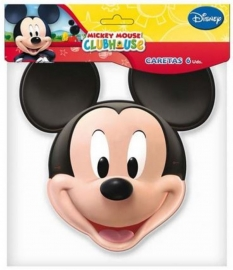 Disney Mickey Mouse maskers 6 st.
