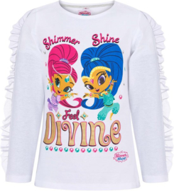 Shimmer and Shine longsleeve wit mt. 92