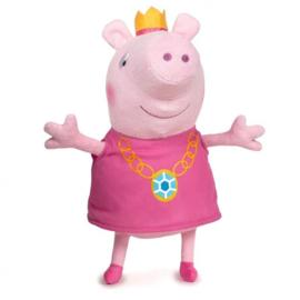 Peppa Pig knuffel kroon 45 cm.