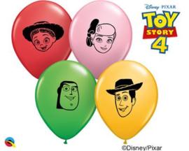 Disney Toy Story 4 face ballonnen ø 12 cm. 10 st.