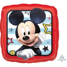 Disney Mickey Mouse smile folieballon 43 cm.