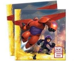 Disney Big Hero 6 servetten 33 x 33 cm. 20 st