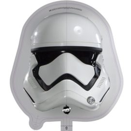 Star Wars Stormtrooper folieballon 50 x 47 cm.