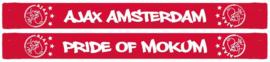Ajax sjaal rood Pride of Mokum 150 cm.