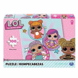 LOL Surprise! puzzel 100 stukjes