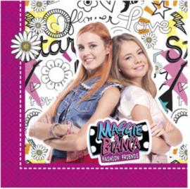Maggie & Bianca servetten 33 x 33 cm. 20 st.