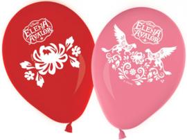 Disney Elena of Avalor ballonnen ø 28 cm. 8 st.