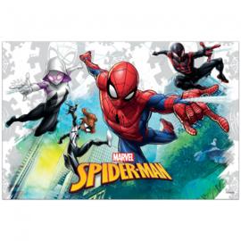 Spiderman tafelkleed Team Up 120 x 180 cm.