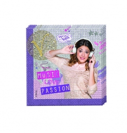 Disney Violetta servetten 33 x 33 cm. 20 st.