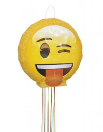 Emoji - Smiley 3D luxe pull pinata ø 40 cm.