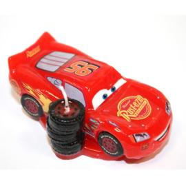 Disney Cars Lightning Mc Queen 3D verjaardagskaars 8 cm.