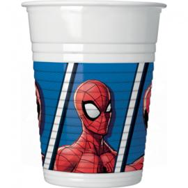 Spiderman Team Up bekertjes 8 st.