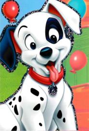Disney Dalmatiërs wenskaart (blanco)
