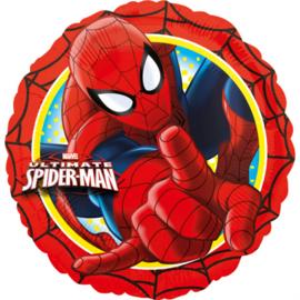 Spiderman folieballon Ultimate ø 43 cm.